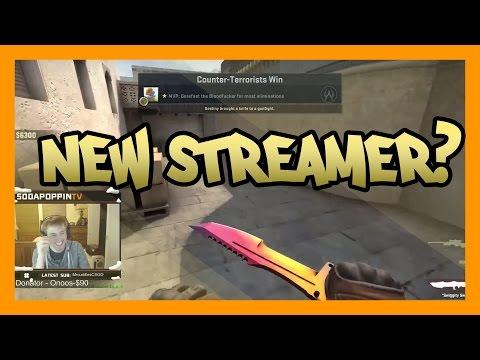 CS:GO - New Streamer On Twitch!