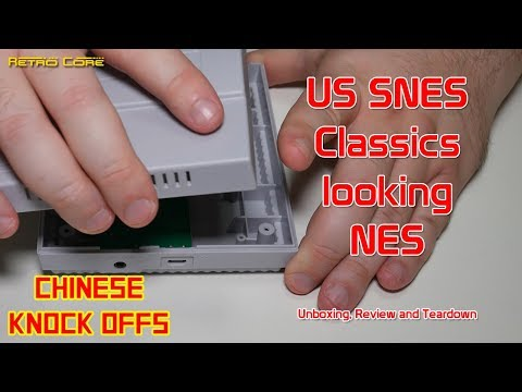 Chinese Knock Offs - US SNES Classics Mini - NES (Actually A Good One!) - 4K