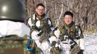 Marines Train In Freezing Cold With Japanese Ground Self Defense Force