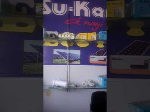 New solar products shop in Alwar Rajasthan India Asia
