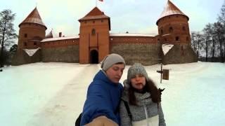 Идём в Тракайский Замок, Литва, Тракай (Xiaomi Yi)(Еще одна экскурсия, на этот раз в красивейший город Тракай., 2016-02-12T18:45:36.000Z)