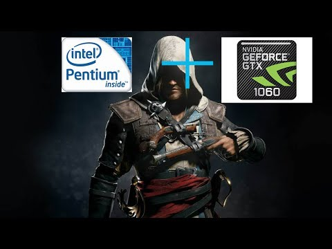 What happens when a Pentuim G2020 is Equipped w/ GTX 1060 6 GB | Assassins Creed 4
