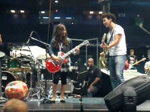 Me Playing SOS With the Jonas Brothers!