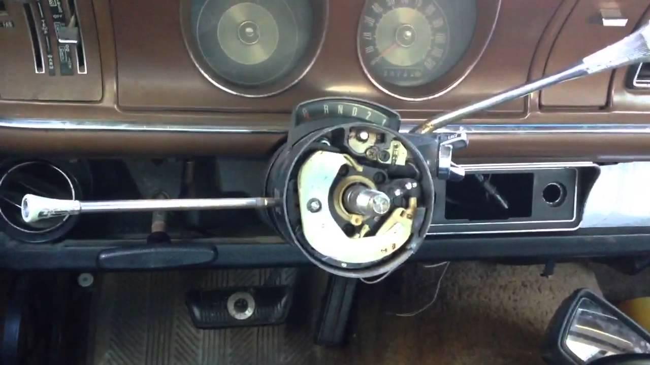 Grant Steering Wheel For Maverick Or Comet Youtube