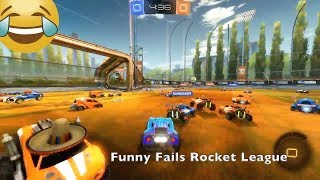 Funny Fails Rocket League #3