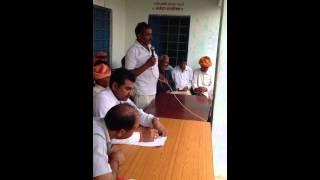 Ramlal Jat- MLA - addressing people of NARELI place