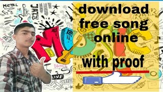 free mp3 or video  song download  online 100 % working english / Hindi  ll