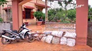 (VTC14)_Quảng Ninh: Hàng chục nhà dân ngập trong bùn đất