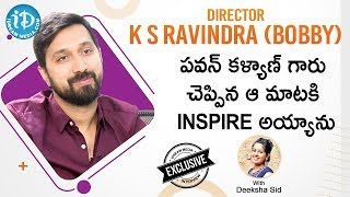 Director K. S. Ravindra (Bobby) Exclusive Interview || #Venkymama || Talking Movies With iDream