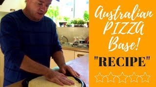 Australian Inspired  Yeast Free Pizza Dough Damper Recipe