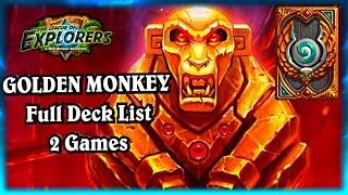 Golden Monkey Madness ~ Hearthstone The League of Explorers Elise Starseeker Video