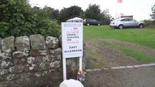 East Allerdean Certificated Site, Berwick, Northumberland