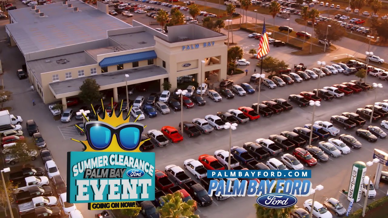 Palm Bay Ford >> Palm Bay Ford Summer Sales Event