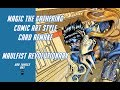 Magic The Gathering Card Art Remake   Comic Book style   Maulfist Revolutionary