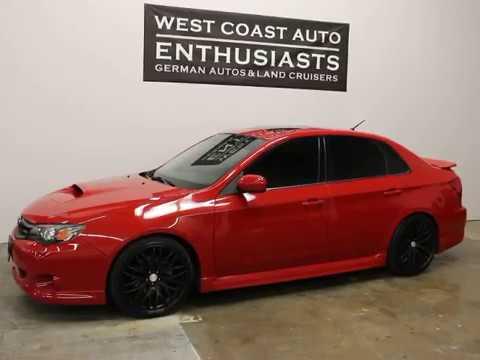 Subaru Impreza Wrx Sedan Premium