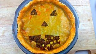 Jack O'lantern Pie - Halloween Recipe