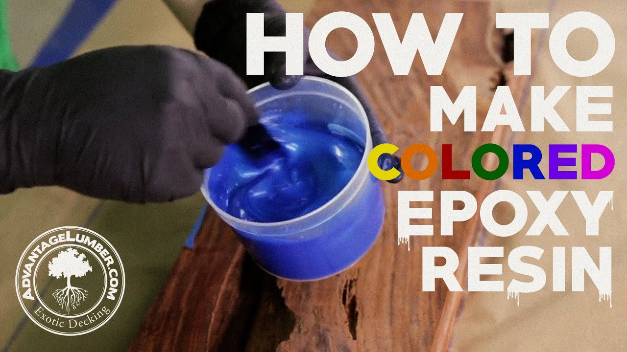 How to Make Colored Epoxy Resin