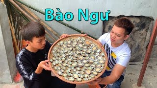 Hữu Bộ | Bào Ngư Nướng Mỡ Hành | Grilled Abalone