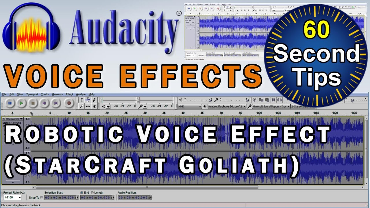 audacity voice effects how to create a robotic voice effect starcraft 39 goliath 39 tutorial. Black Bedroom Furniture Sets. Home Design Ideas