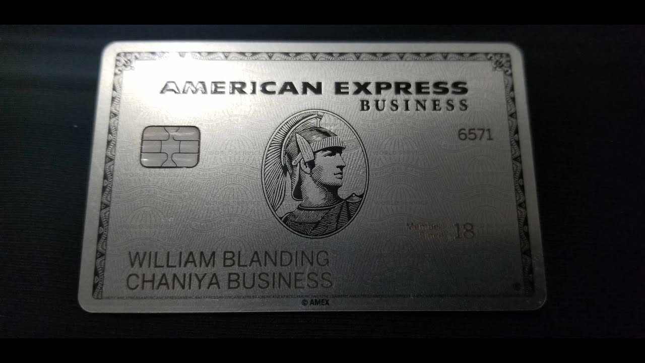 I Got It The American Express Platinum Business Card Youtube