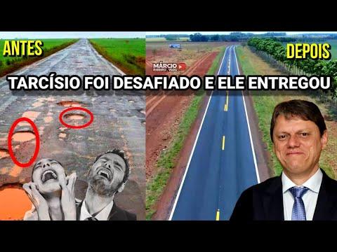 ?MINISTRO TARCÍSIO FOI DASAFIADO E ELE ENTREGOU +1 OBRA: REVITALIZAÇÃO BR-060/MS + PASSAGEM DE FAUNA