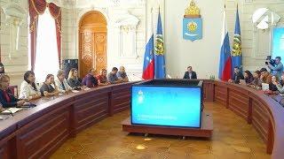 Экс-губернатор Астраханской области Александр Жилкин провёл итоговую пресс-конференцию