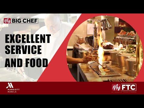 Excellent Service & Food at Marriott Manila