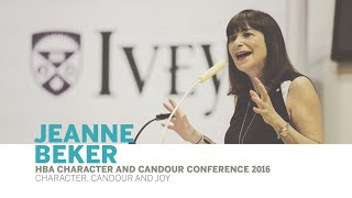 Thumbnail Leadership lessons from Jeanne Beker