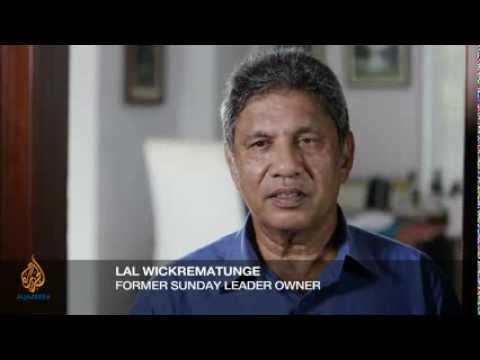 Lal Wickrematunge Interview About Brother Lasantha And Media