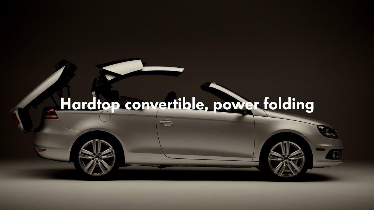 2017 Volkswagen Eos Hardtop Convertible Folding