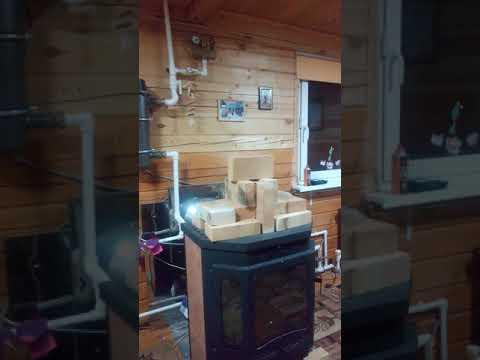 Печь Камин +с водяным  (нюансы). www.santguru.ru