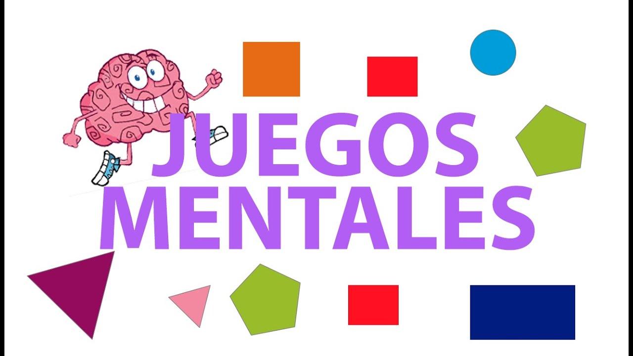 Juegos Mentales Para Ninos Agilidad Mental Para El Cerebro Youtube