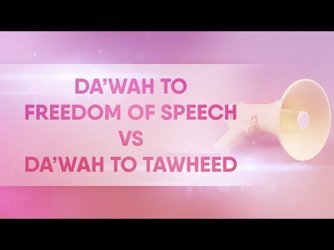 Da'wah To Freedom of Speech VS Da'wah Tawheed [18] Manhaj Mondays
