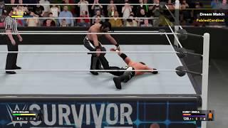 Kenny omega vs Seth rollins