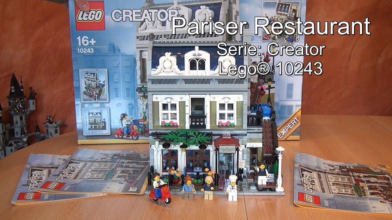 Lego Pariser Restaurant