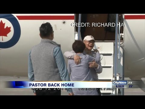 Pastor freed from North Korean prison returns to Canada