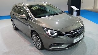 2017 Opel Astra Sports Tourer Excellence - Exterior and Interior - Zürich Car Show 2016