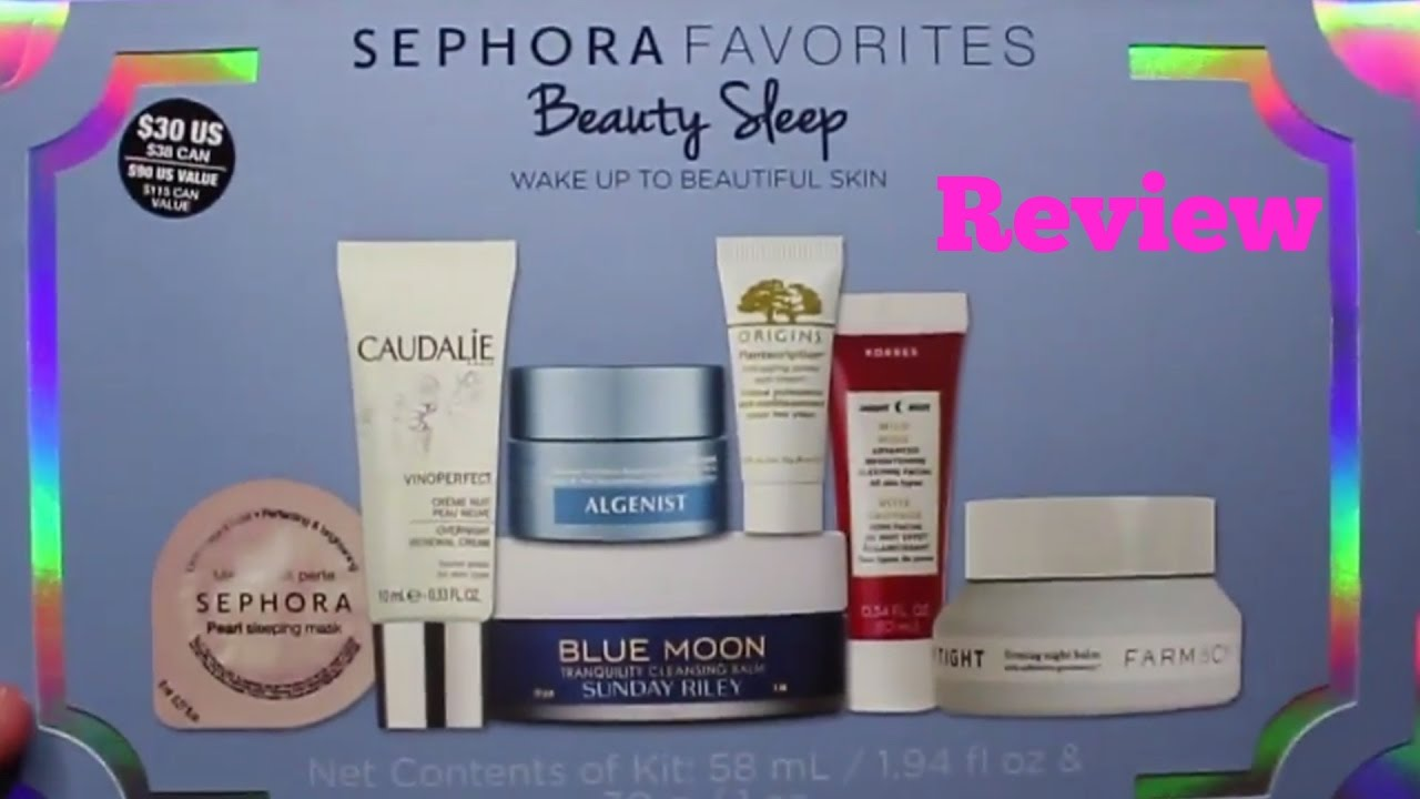 SEPHORA Favorites Beauty Sleep Set by Sephora Collection #3