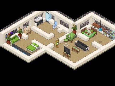 Construir una casa habbo doovi for Casa moderna hlandia