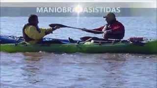 MANIOBRAS DE REINGRESO en kayak sit on top - Seguridad en Kayaks abiertos - Vol. 2
