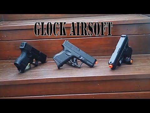 Pistola Airsoft Glock Baby Spring P360 STW | Loja Blowback