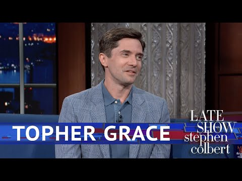 Topher Grace Does a Surprisingly Good Marty McFly Impression (Video)