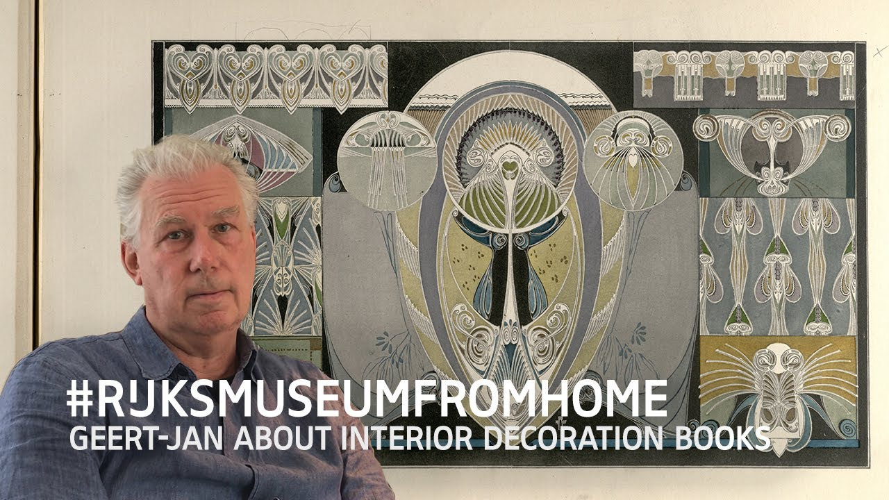 Rijksmuseumfromhome Geert Jan About Interior Decoration Books Youtube