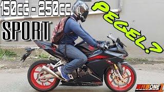 Motor Sport 150cc - 250cc TERPEGEL! Cara mengatasi rasa pegel naik Motor Sport?