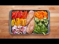 One Pan Chicken And Veggie Meal Prep 2 Ways
