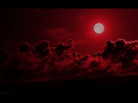 "Blood Moon Red Sky ""Hypocrites!"" You see the face of the sky but cant discern the Signs of the Times"