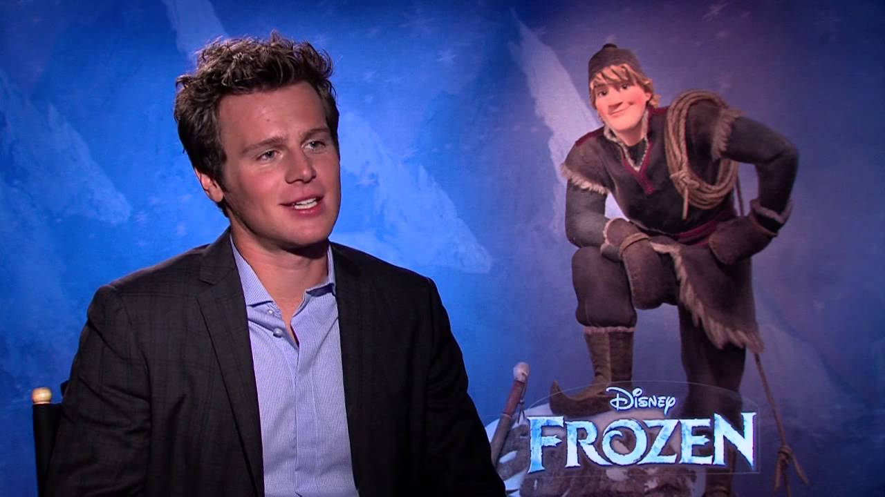 frozen jonathan groff voice of kristoff official movie interview