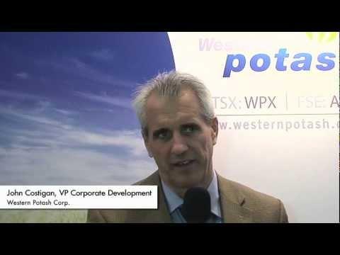 Interview mit John Costigan von Western Potash auf der PDAC 2012