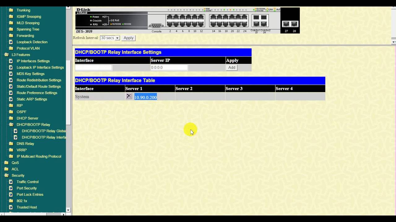 D-Link DES-3828 Treiber Windows 7