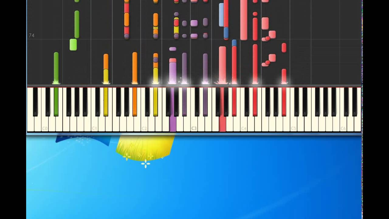 Brooks Dunn My Maria Piano Tutorial By Synthesia Youtube